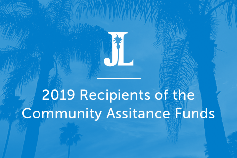 2019 Recipients of the Community Assitance Funds
