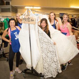Rummage 2019 JLSB Members selling wedding dresses